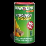 Accendifuoco Ecologico 100 Cubi diavolina