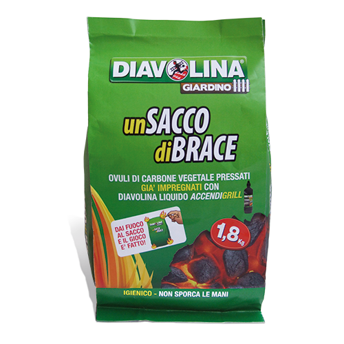 Sacco di Brace diavolina