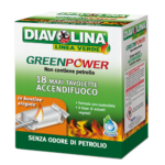 Green Power Maxi Tavolette Accendifuoco diavolina