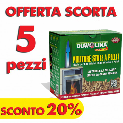 Promozione Pellet Spazzacamino